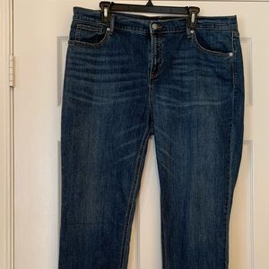 Old Navy perfect straight denim jeans size 16